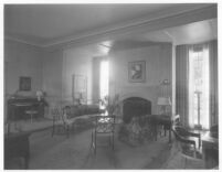 Oldknow House, Bel Air, living room