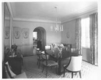 Oldknow House, Bel Air, dining room