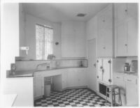 Sheehan Apartments, Beverly Hills, kitchen