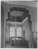 Sheehan Apartments, Beverly Hills, dining room