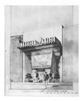 Southern Pacific Building, photograph of rendering