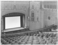 State Theatre, Stockton, proscenium and auditorium before remodel