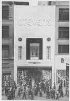 Steven's Clothing Store, façade