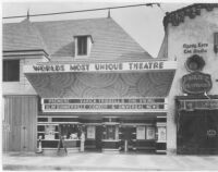 Studio Theatre, Hollywood, façade