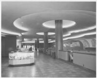 Tower Bowl, San Diego, bowling area