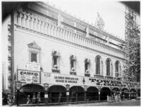 Tower Theatre, Los Angeles, Construction, Eighth Avenue elevation 8/3/27
