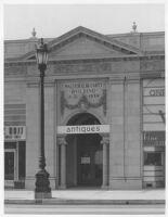 Trabert & Hoeffer Store, street elevation before remodel