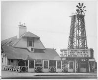 Tumbleweed Theatre, Five Points (El Monte), street elevation, day