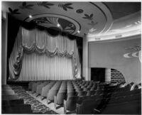 Vern Theatre, Los Angeles, proscenium