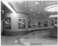 Vern Theatre, Los Angeles, lobby