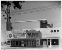 Vern Theatre, Los Angeles, street elevation