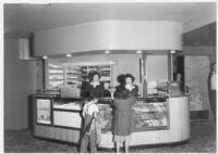 Visalia Theatre, Visalia, candy counter