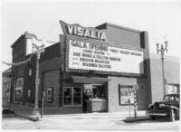 Visalia Theatre, Visalia, exterior