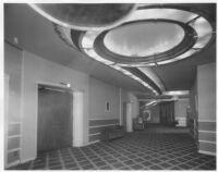 Vogue Theatre, South Gate, foyer