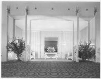 Tower Theatre, Compton - foyer