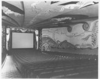 State Theatre, San Diego, auditorium, front
