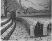 State Theatre, San Diego, auditorium, side view