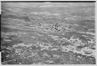 Aerial view from Tupolev ANT-25 airplane flown from Moscow to San Jacinto, CA, breaking the world long-distance flight record.  July 14, 1937.