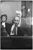 Jurors for the murder trial of Albert Dyer in court, Los Angeles, 1937