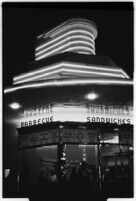 Drive-in restaurant, Los Angeles, 1937