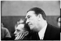Capt. Leopold McLagle, American Jiu-Jitsu instructor and actor, in court, November 18, 1937