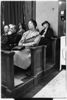 Jury for the trial of accused murderer Paul A. Wright, Los Angeles, 1938