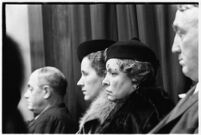 Mrs. Alice M. Wheatley and Mrs. Ruth L. Birkelund, jurors on the murder trial of Paul A. Wright, Los Angeles, 1938