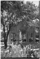 Pavilion on the estate of film comedian Harold Lloyd and his wife Mildred, Beverly Hills, 1927