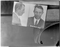 Photograph of murder victim Ivan A. Fromm, Los Angeles, 1940
