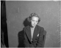Betty Hardaker, mother convicted of murdering her daughter, Los Angeles, 1940