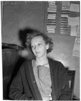 Betty Hardaker after her conviction for the murder of her daughter, Los Angeles, 1940