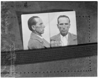 Photograph of murdered cowboy film extra Johnny Tyacke, Los Angeles, July 1940
