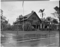 William May Garland residence on West Adams street, Los Angeles, 1940