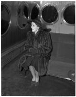 Betsey Cushing Roosevelt during her divorce suit against husband James Roosevelt, Los Angeles, February 29, 1940