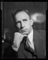 Raymond E. Johnson, confessed murderer of young dancer Midi Takaoko, Los Angeles, 1936