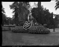 Salvation Army parade float for Tournament of Roses, Pasadena, 1937