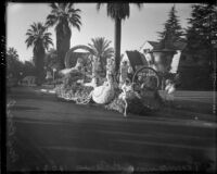Long Beach parade float for Tournament of Roses Parade, Pasadena, 1937