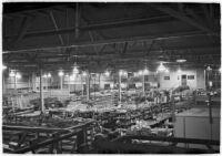 Douglas Aircraft Corporation plant, the location of a sit-down strike, Santa Monica, 1937