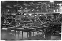Douglas Aircraft Corporation plant, the location of a sit-down strike, Santa Monica, 1937