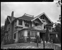 Property purchased for Los Angeles headquarters for Father Divine's International Peace Mission movement, Los Angeles, 1935