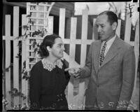Mr. Oran P. Cremer and Mrs. Bess Cremer, Los Angeles, 1930s