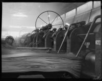 Machinery in a Columbia Steel Company plant, Torrance
