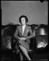 Heiress Nancy Pierson Brooks Macy Brill, Los Angeles, 1937