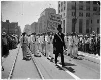 Labor Day Parade. Los Angeles, 1937