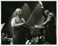 Fritz Kreisler in rehearsal with Vladimir Bakaleinikoff, 1947 [descriptive]