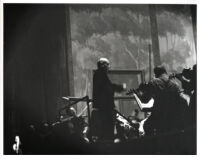 Arturo Toscanini conducting in rehearsal, 1949 [descriptive]