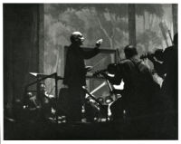 Arturo Toscanini conducting, Los Angeles, 1949 [descriptive]