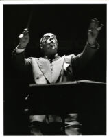 Sir Thomas Beecham conducting, 1955 [descriptive]