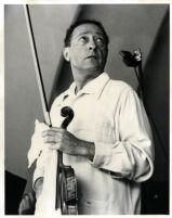 Jascha Heifetz, 1957 [descriptive]