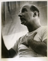 William Steinberg in rehearsal, 1957 [descriptive]
